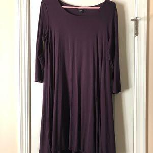 Karen Kane 3/4 length sleeve Maggie Trapeze dress